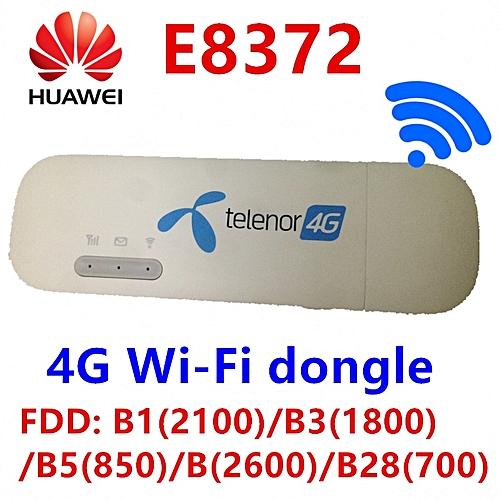 Huawei E8372 E8372h-608 change IMEI 150Mbps 4G WiFi Dongle LTE Universal  USB Modem firmware 21 180 07 00 00