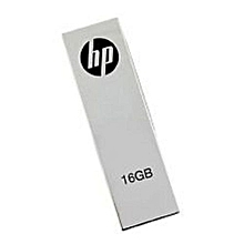 16GB - Flash Disk With Clip - Silver
