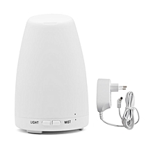Home-Inclined Mouth Air Humidifier Essential Oil Diffuser with Colorful LED Lights*White