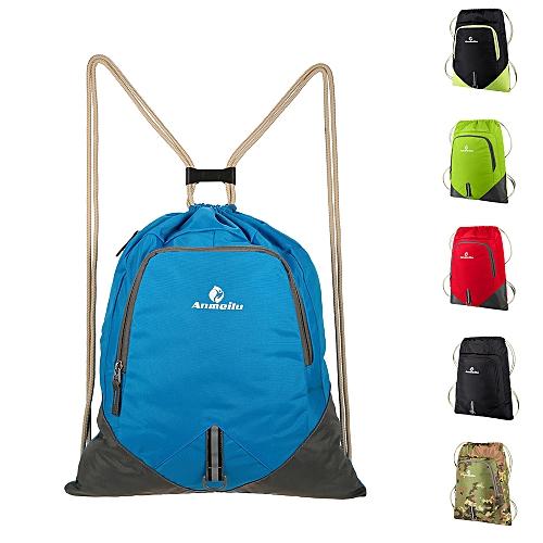 Generic ANMEILU 12L Foldable Drawstring Backpack Ultralight Outdoor Travel  Waterproof Folding School Bag   Best Price  6e9c63823de23