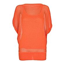 Orange Ladies Top