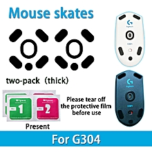 2 sets Teflon 0.6mm 3M Mouse Feet mouse Skates for Logitech G304 G305 Mouse
