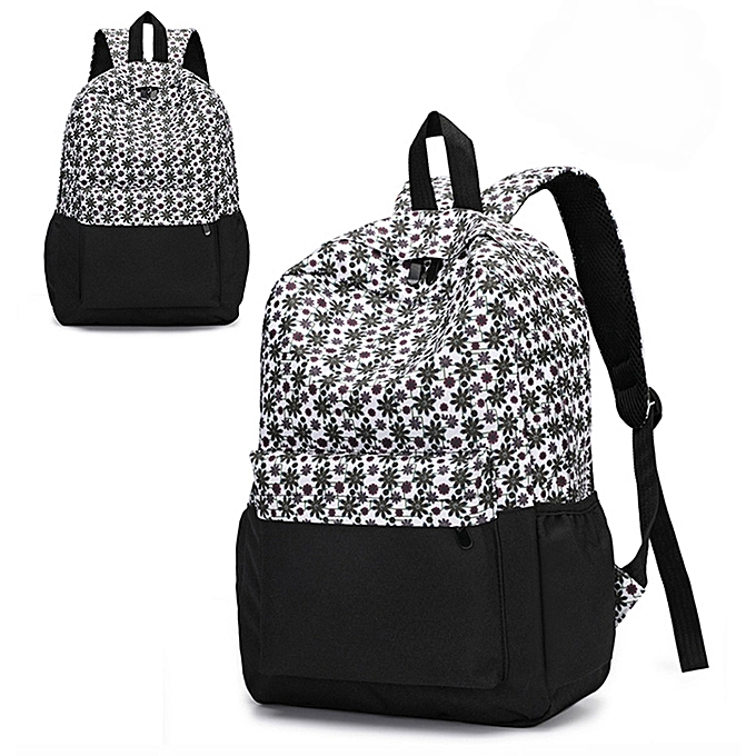 Tectores Fashion Trend Fresh Style Women Backpacks Floral Print Bookbags  Female Travel Backpack Gift 6fbcb93513d0c