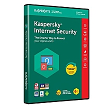 Kaspersky Internet Security 2018 1 Device,Renewal
