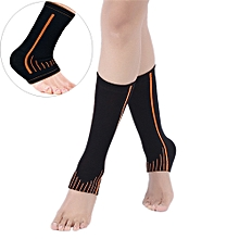 Elastic Sports Ankle Support Foot Brace Guard Sports Shin Protector Feet