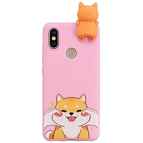 meet 14077 16654 Xiaomi Mi A2 Phone Case, Soft Silicone Slim Flexible 3D Cartoon Animal  Super Cute TPU Painted Pattern Case Cover for Xiaomi Mi A2 (Mi 6X) 5.99