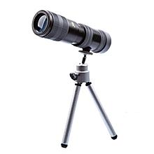 BIJIA 15-30X High Powered Zooming Telescope Prism Monocular Hiking Bird Watching Camping