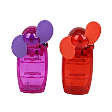 Mini Handheld Fan Battery Cool Mist Portable Handheld Gadget Summer Student