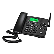 Desktop Wireless Telephone GSM Fixed Phone Support 1 SIM Card 2G for House Home Call Center Office Company Hotel