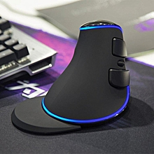 Delux M618 PLUS Wireless Vertical Mouse Ergonomic Wireless Mouse Gaming Mouse LBQ