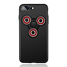 Scrub Hand Spinner Phone Case For iPhone-Black