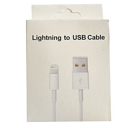 IPhone 5/6/6 Plus Iphone7 Fast Charge USB Cable Cable - White