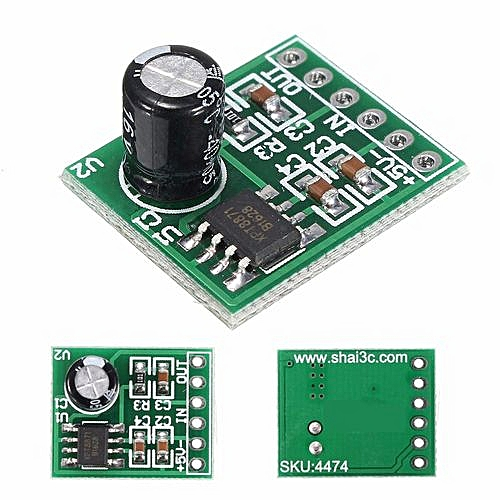 XPT8871 5V Single Mono Channel Digital Audio Amplifier Board Module for  Arduino