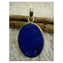 925'Sterling Silver with Lapis Lazuli Pendant
