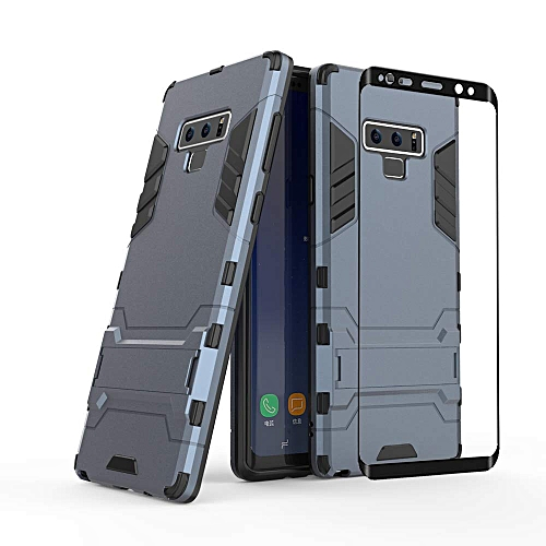 more photos b4259 4b427 Galaxy Note 9 Case, [Full Body] [Heavy Duty] Shockproof Bumper Tough Rugged  Dual-Layer Protective Case Cover & 2.5D Tempered Glass Screen Protector ...