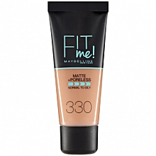 Maybelline Fit Me Matte And Poreless Foundation - Toffee 330