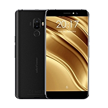 S8 Pro 4G Smartphone 5.3 Inch Android 7.0 MTK6737 Quad Core 1.3GHz 2GB RAM 16GB 13.0MP + 5.0MP Dual Rear Cameras Fingerprint Touch Sensor-BLACK