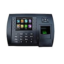 S900/ID/GPRS FINGERPRINT TERMINAL - 3.5 inch TFT colour screen- 8000 fingerprint template - Black