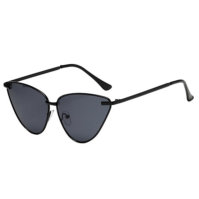 98738cf99536 ROE Shop Women's Fashion Vintage Cateye Frame Shades Acetate Frame UV  Glasses Sunglasses