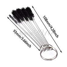 5 Pcs SET Nylon Brush Shank BRIAR Tobacco Pipe Cleaner Cleaning Stainless Steel
