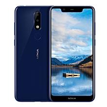 "Nokia X5 5.86"" Android 8.1 3GB RAM + 32GB ROM 3060mAh - Blue"
