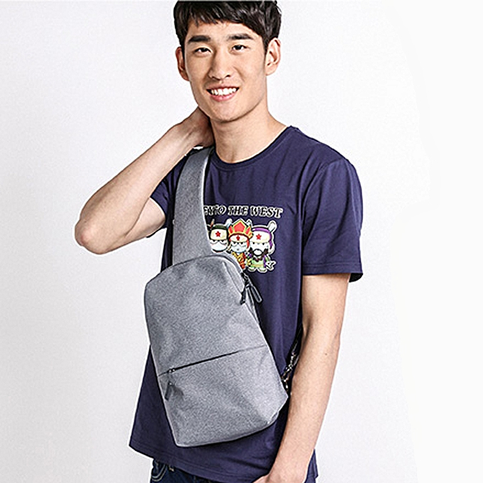 e75953f7fb2f ... Mi Sling Bag Leisure Chest Pack Small Size Wear-resistant Shoulder Type  Backpack Crossbody Bag