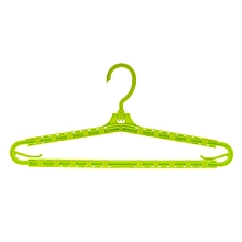 Dual-use Multifunctional Plastic Blanket Hanger Lengthen Drying Rack green