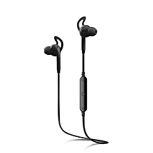 A610BL Bluetooth 4.0 Sports Stereo Sound Earphone with Built - in Microphone - Black