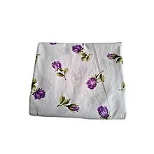 Duvet Cover Set - 4 x 6 - Currant Purple Rose Floral