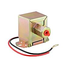 12V Low Pressure Universal Electric Fuel Pump - Gold