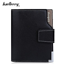 Men's Leather Wallet - Black