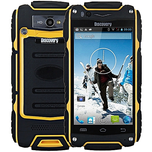 4.0 inch Discovery V8 Android 4.4 3G 1.0GHz 4GB ROM - yellow