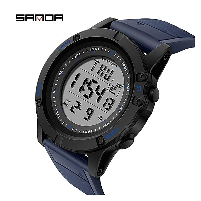 86e39c3e3a6 ... SANDA Military Countdown Sport Watch Men G Shock LED Digital Watch  Waterproof Electronic Men Watches relogio ...