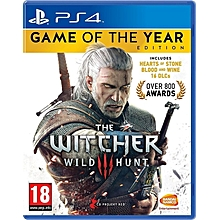 PS4 The Witcher 3 Wild Hunt complete edition GOTY
