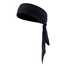 Free Binding Sports Headband Stretch Elastic Yoga Running Headwrap Hair Band