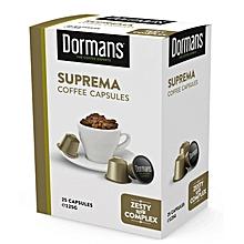 Suprema Coffee Capsules-125g