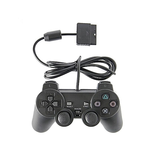 PS2 - Dual Shock 2 Controller Wired - Black