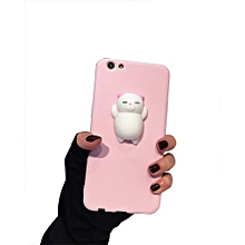 Pinch Squishy 3D Phone Case For IPhone6/6S -Pink