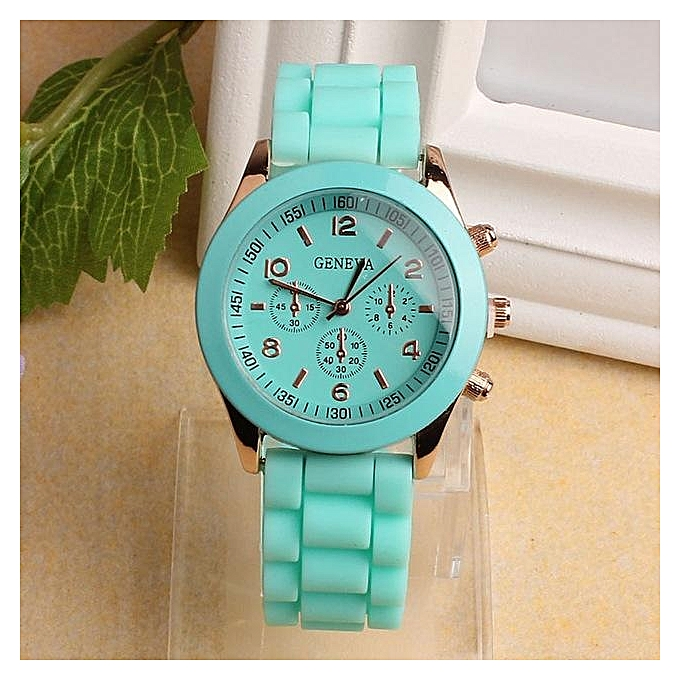76363e07668 GENEVA 2019 New Fashion Colorful Brand Casual Quartz Watch Women Silicone  Rubber Watches Relogio Feminino Dress Wrist Watch Hot