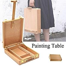 Artist Easel Art Drawing Painting Wood Table Sketching Box Board Desktop Durable