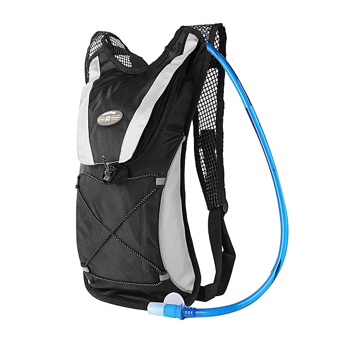 bc84b9bf11 ... Hydration Pack + 2L Water Bladder Bag Backpack Cycling Bicycle Hiking  Camping ...