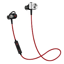 Bluetooth WiFi Music Sport In-ear Earbuds - Red and Black