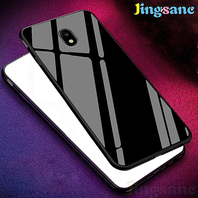 ... For Samsung Galaxy J3 Pro 2017 [Phone Case + Ring Holder + Lanyard + Tempered