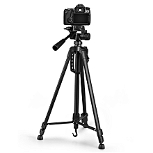 WEIFENG WT3520 Aluminum Alloy Foldable Protable Photography Tripod for Camera DV Camcorder