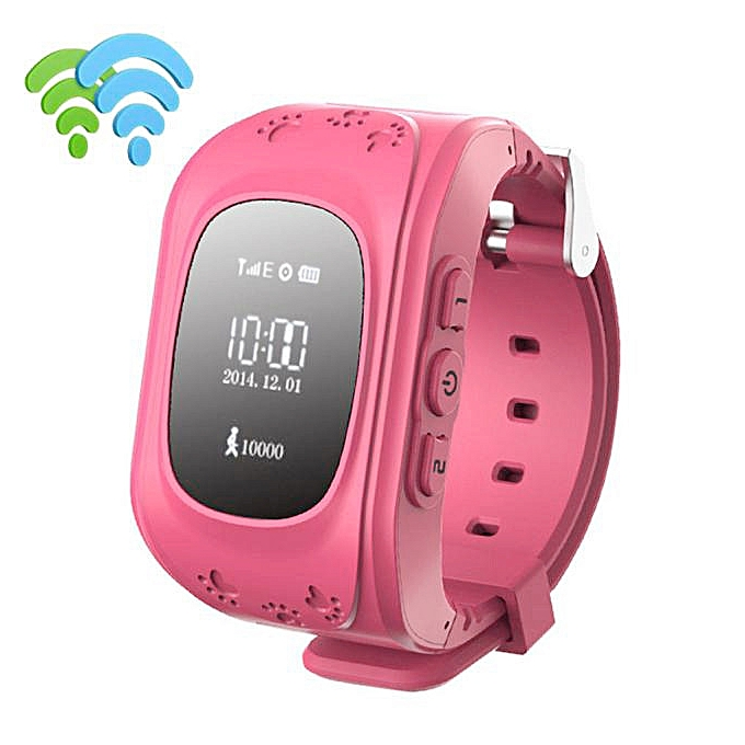 Anti-lost Children Smart Watch GPS Positioning Bluetooth Wrist For Android RD
