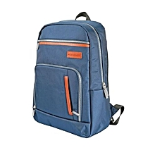 Expidition-BP :Blue  Laptop Backpack, Lightweight All-Terrain Durable Secure Multi-Storage Backpack with Document Organizer and Quick Access Zipper for Men, Women, Up to 15.6 Inch Laptop
