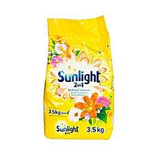 2 in 1 Washing Powder & Softener spring sensations 3.5 Kg