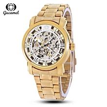 G046 Men Auto Mechanical Watch-WHITE