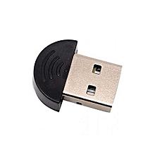 Bluetooth Micro Adapter Dongle - USB 2.0 - Black
