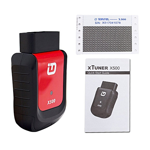 xTuner X500 Android Car Scanner Universal OBDII Bluetooth Diagnostic Tool